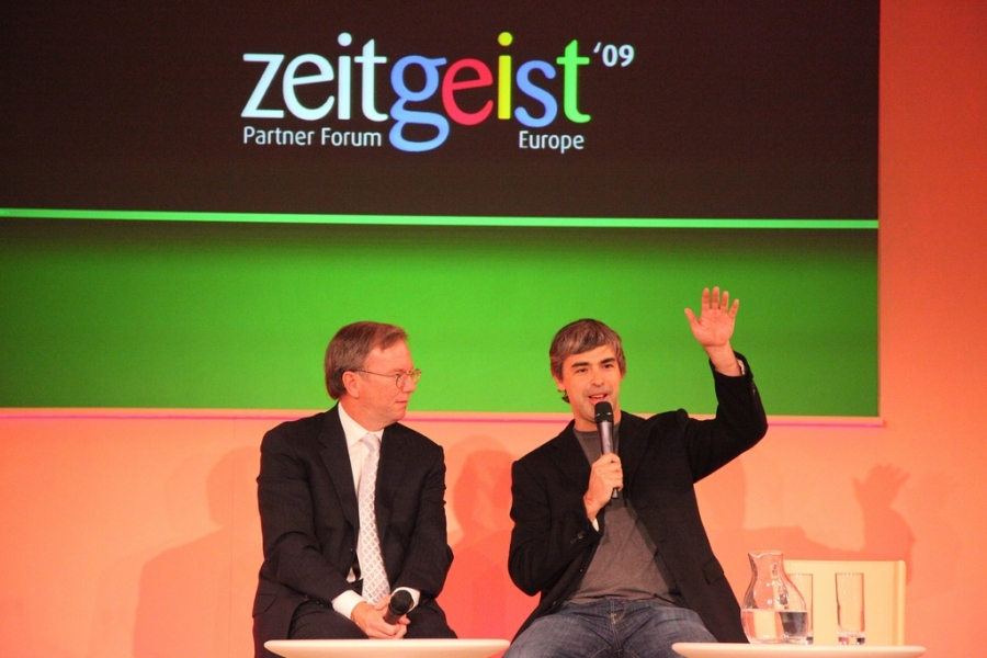 Eric Schmidt i Larry Page