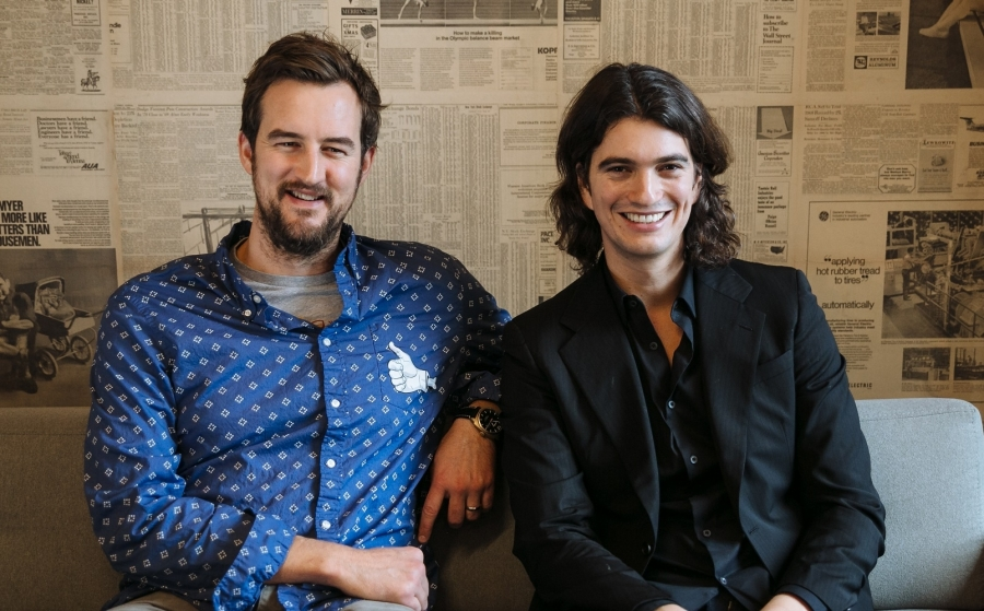 Miguel McKelvey, Chief Creative Officer, i Adam Neumann, Chief Executive Officer WeWork